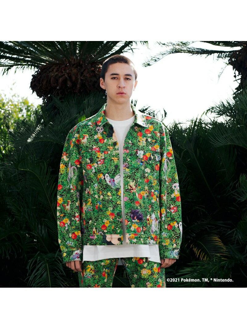 メンズファッション, コート・ジャケット SALE40OFFLevis VINTAGE FIT POKEMON GARDEN