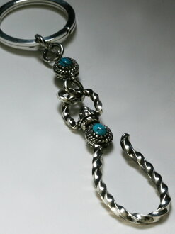 VIVIFY Old Native Style Setting Ball Key Chain二是二φ