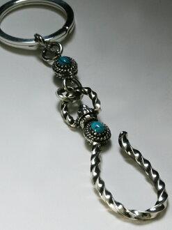 VIVIFY Old Native Style Setting Ball Key Chain二是二φ