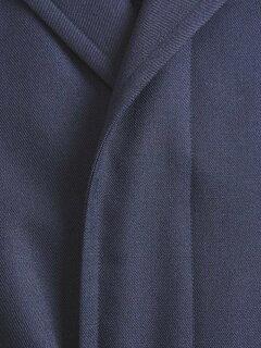 Single Breasted Raglan Trench Coat 1125-299-7309: Navy