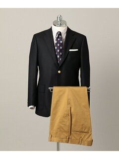 J. Press Saxony Wool Sack Blazer BZOVYW0001: Navy