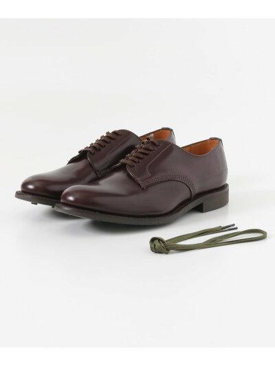 Military Officer Shoe 1384: Burgundy