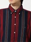 VAN Jacket Popover Multi Stripe Buttondown Shirt EN91504