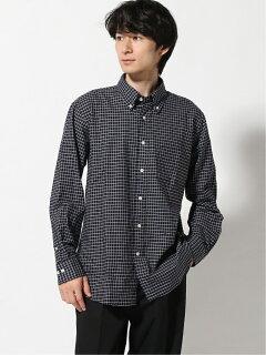 Graph Check Buttondown Shirt EN91512: Navy