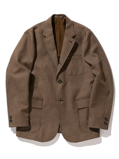 Travel Tweed Sport Coat 11-16-1669-803: Brown