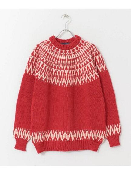 Guernsey Woollens Icelandic Twotone Sweater GW1002
