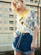 【SALE/50%OFF】jouetie ハイウエスト80'SショートPT ジュエティ パンツ/ジーンズ【RBA_S】【RBA_E】【送料無料】