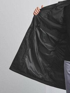 Padded Hooded Coat 1125-699-7547: Black