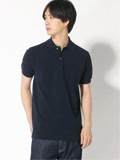 Garment Dyed Pique Polo Shirt 20071610027610: Navy