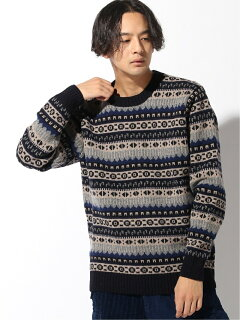 Country of Origin Fairisle Lambswool Sweater 51-15-0450-012