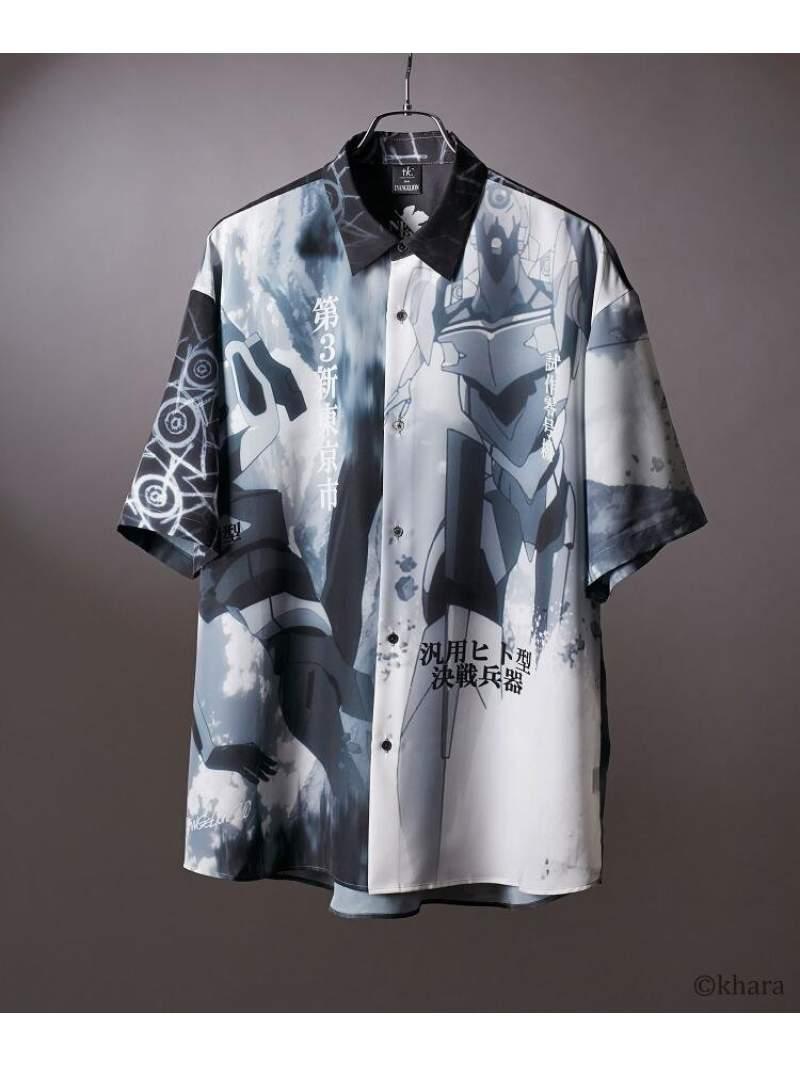 トップス, カジュアルシャツ SALE50OFFtk.TAKEO KIKUCHI EVANGELION