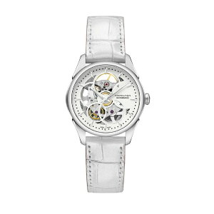 HAMILTON (W) Jazzmaster Skeleton Lady Hamilton Fashion Goods Watch White [Livraison gratuite]
