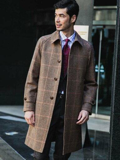 Tweed Raglan Coat 3125-199-0527