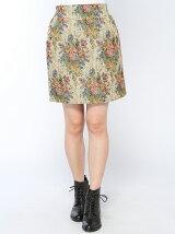 ジャガードスカート