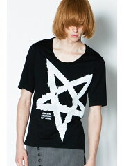 HAREEF メンズ カットソー シャリーフ【送料無料】SHAREEF *PAINTED STAR CREW-NECK S/S シャリ...