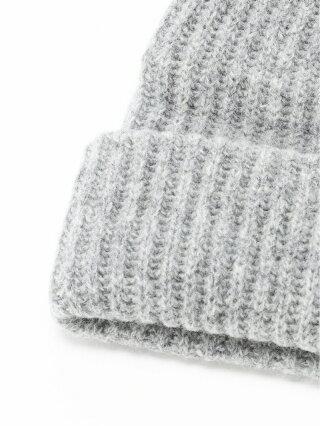DEUS (M)DEUS/BEANIE ベイフロー 帽子/ヘア小物 ニット帽/ビーニー グレー ブラック