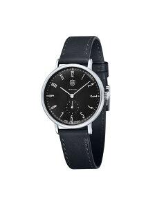 DUFA (M)Gropius グロピウス DF-9001-01 38mm ブラック ドゥッファ ファッショングッズ 腕時計 ブラック【送料無料】