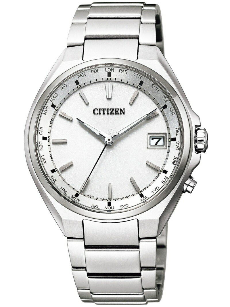 ATTESA ATTESA/(M)エコ・ドライブ電波時計CB1120-50A シチズン ファッショングッズ 腕時計 ホワイト【送料無料】