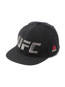 【SALE/44%OFF】Reebok (U)UFC FLAT PEAK CAP (FN) リーボック 帽子/ヘア小物 キャップ ブラック【RBA_E】
