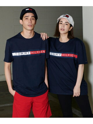 【SALE/30%OFF】TOMMY HILFIGER TOMMY HILFIGER(トミーヒルフィガー) ロゴ Tシャツ/SPORTINO SS TEE ロゴ Tee カットソー 半袖 Tシャツ メンズ トミーヒルフィガー カットソー Tシャツ ホワイト グレー ブラック 【RBA_E】