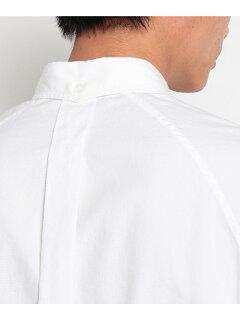 Supima Oxford Drawstring Buttondown Shirt 086-58502: White