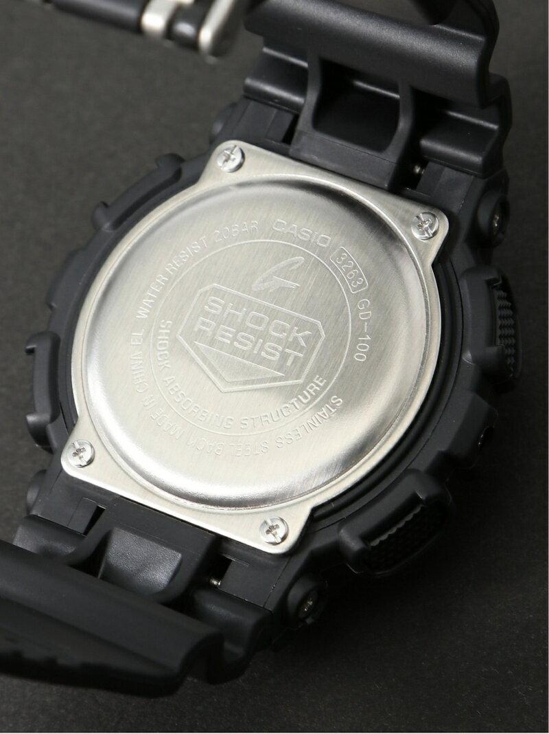 G-SHOCK/BABY-G/PRO TREK G-SHOCK/(M)GD-100-1BJF/GD-100 Series カシオ ファッショングッズ