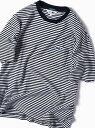 SHIPS LACOSTE:別注ドロップテイルビッグポケットTシャツ シップス シャツ/ブラウス ワイシャツ ブルー ホワイト グレー グリーン ネイビー【送料無料】