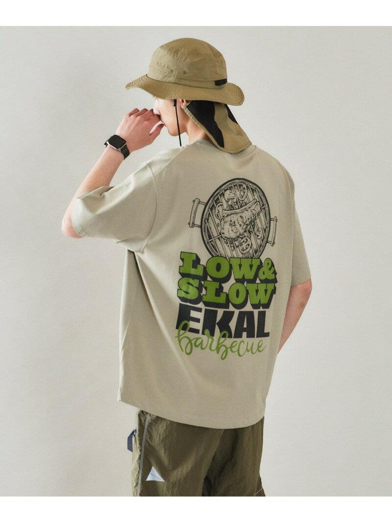 トップス, Tシャツ・カットソー SALE60OFFEKAL EKAL LOWSLOW PRINT T-SHIRTS T RBAE