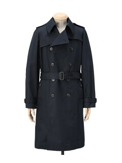 Olmetex Trench Coat 086-95304: Navy