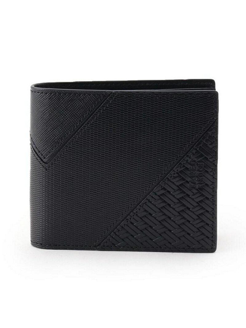 TAKEO KIKUCHI パッチワーク二つ折り 財布 [ メンズ ウォレット パッチワーク ギフト 折りたたみ ] タケオキクチ 財布/小物