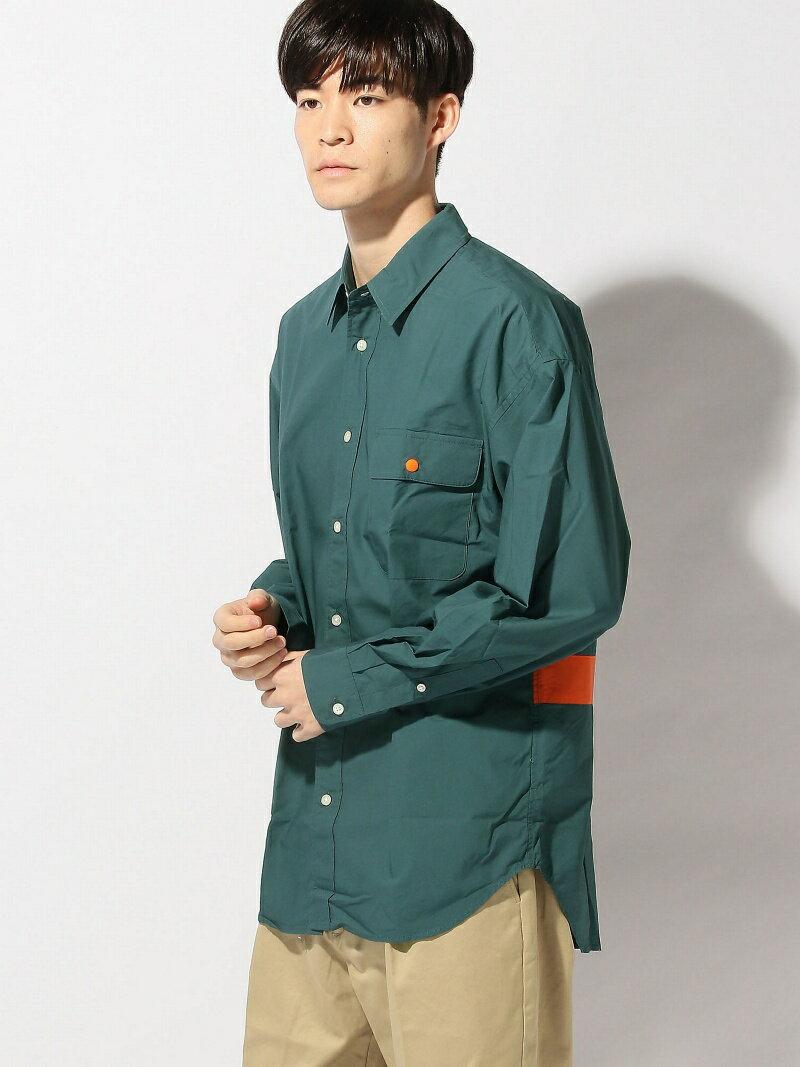 トップス, カジュアルシャツ SALE70OFFTHE COMMON TEMPO THE COMMON TEMPO(M)BIG LINE SHIRTS RBAE