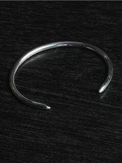 NARRATIVEPLATOONE BUFFALO BANGLE SILVER マージン【送料無料】