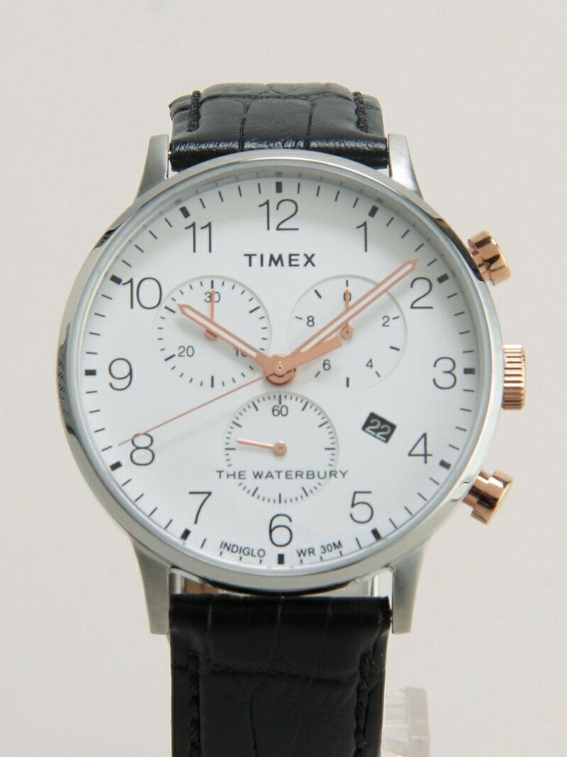 TIMEX/(M)ウォーターベリー クラシック クロノ ライフスタイルステーション ファッショングッズ