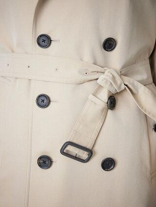 SANYOCOAT <100年コート>ダブルトレンチコート(三陽格子) サンヨーコート コート/ジャケット トレンチコート ベージュ ブラック ネイビー【送料無料】