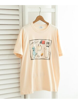 【SALE/50%OFF】URBAN RESEARCH 【別注】LeftyArt×URBAN RESEARCH T-SHIRTS wardrobe アーバンリサーチ カットソー Tシャツ ホワイト【RBA_E】