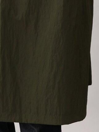【SALE/53%OFF】SANYOCOAT <BLUEFLAG>ナイロンワッシャーセミダブルオーバーコート サンヨーコート コート/ジャケット コート/ジャケットその他 カーキ ブラック【RBA_E】【送料無料】