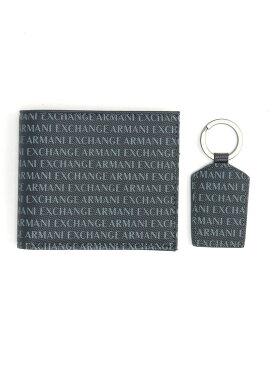 A X ARMANI EXCHANGE (M)SMALL LEATHER SET A Xアルマーニ エクスチェンジ 財布/小物【送料無料】