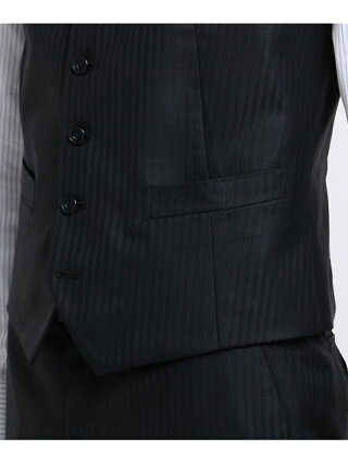 3360b679d2ed0 ... TAKEO KIKUCHI シャイニーストライプベスト[ スリーピース 撥水 スリーシーズン ] タケオキクチ コート/ジャケット ...