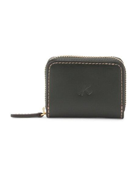 Kitamura(M)小銭入れZH0078キタムラ財布/小物財布カーキネイビーブラウンブラック