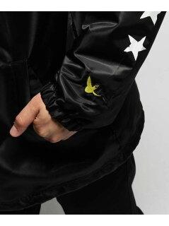 BASECONTROL MARK GONZALES/マークゴンザレス別注 コーチジャケット ベース ステーション コート/ジャケット【送料無料】