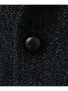 J. Press Laverock Tweed 3 Button Sack Sportcoat BROVYW0004: Navy