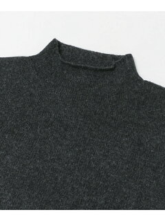 JP Roll Neck Knit UF87-12Y001: Charcoal