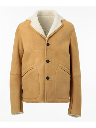 J. Press Shearling Jacket JROVYW0215: Beige
