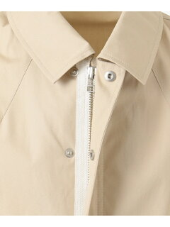 J. Press Ventile Coaches Jacket JROVKM0024: Ivory