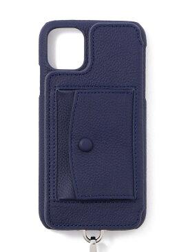B'2nd 【DEMIURVO】BIRTH POCHE 背面手帳型スマホケース iPhone 11 ストラップ付 ビーセカンド その他 その他 ブルー【送料無料】