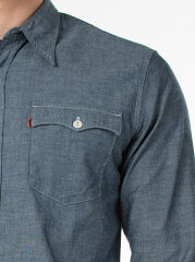 Levi's Orange Tab Shirt 29519: 0001 Recycled Chambray Rinse