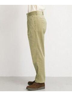 Freemans Sporting Club JP Corduroy Pleated Pants UF86-14B006: Beige