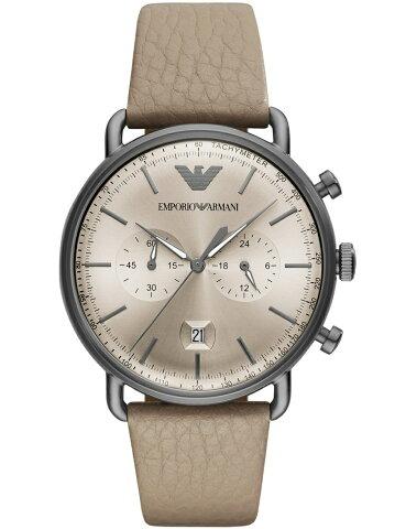 【SALE/30%OFF】EMPORIO ARMANI (M)AVIATOR/AR11107 ウォッチステーションインターナショナル ファッショングッズ 腕時計 グレー【RBA_E】【送料無料】