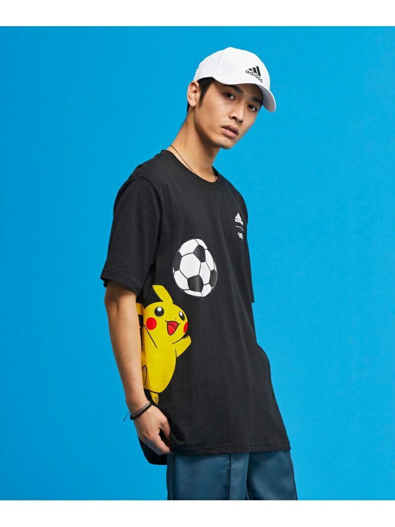 トップス, Tシャツ・カットソー SALE30OFFadidas Sports Performance T Pokemon Pikachu Tee T RBAE