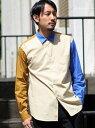 【SALE/60%OFF】マルチカラークレイジーシャツ メンズ ビギ シャツ/ブラウス【RBA_S】【RBA_E】